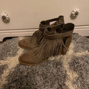 Fringe Spring/Summer Maurice's Booties